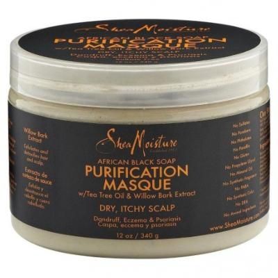 AFRICAN BLACK SOAP :  PURIFICATION MASK by SHEA MOISTURE