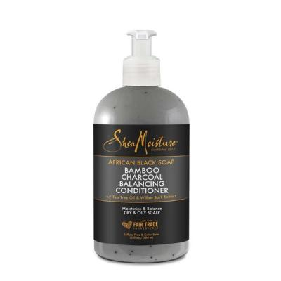 AFRICAN BLACK SOAP :  BAMBOO CHARCOAL BALANCING CONDITIONER - SHEA MOISTURE