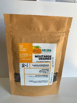 MOUTARDE -  GRAINES 50G