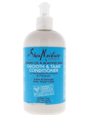 Argan Oil & Almond Milk Smooth & Tame Conditioner - by Shea Moisture