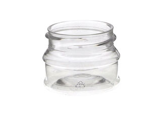 Pot PET 25ml Rond B43/400 cristal