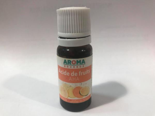 AHA acide de fruit